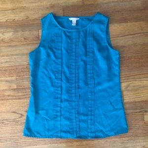 Emerald ribbed tank top   office friendly!